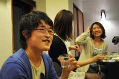 ウエルカムパーティーの様子2。(2010-05-28,共用部,PARTY,1F)