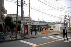 JR南武線久地駅の様子。(2008-11-14,共用部,ENVIRONMENT,1F)