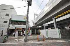 東急東横線元住吉駅の様子。(2009-11-05,共用部,ENVIRONMENT,1F)