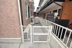 自転車置場の様子。(2009-11-30,共用部,GARAGE,1F)