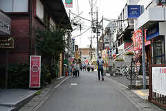 小田急線・生田駅前の商店街。(2017-09-28,共用部,ENVIRONMENT,1F)