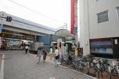 東急東横線元住吉駅の様子。(2008-07-29,共用部,ENVIRONMENT,2F)