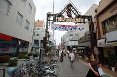東急東横線元住吉駅前の商店街・ブレーメン通りの様子。(2008-07-29,共用部,ENVIRONMENT,2F)