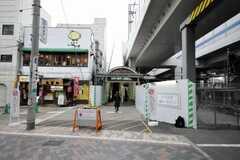東急東横線元住吉駅の様子。(2010-02-01,共用部,ENVIRONMENT,1F)