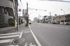 東急東横線元住吉駅からシェアハウスへ向かう道の様子。(2010-02-01,共用部,ENVIRONMENT,1F)