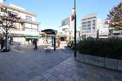 小田急小田原線・向ヶ丘遊園駅の様子。(2013-11-21,共用部,ENVIRONMENT,1F)