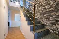階段の様子。(2012-04-13,共用部,OTHER,3F)