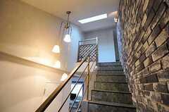 階段の様子2。(2012-04-13,共用部,OTHER,3F)
