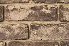 室内だけど、石壁。(2012-04-13,共用部,OTHER,3F)