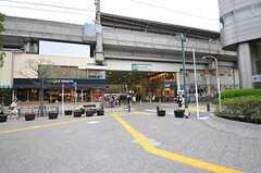 JR南武線・武蔵中原駅の様子。(2012-04-13,共用部,ENVIRONMENT,1F)
