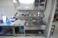 食器棚の様子。(2008-10-08,共用部,KITCHEN,1F)