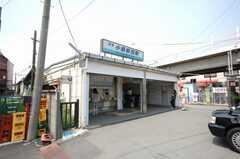 京浜急行大師線小島新田駅前の様子。(2008-10-08,共用部,ENVIRONMENT,1F)