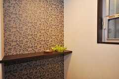専有部の玄関周りの様子。(101号室)(2010-03-09,専有部,ROOM,1F)