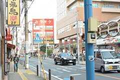 JR南武線・鹿島田駅周辺の様子。(2016-11-22,共用部,ENVIRONMENT,1F)