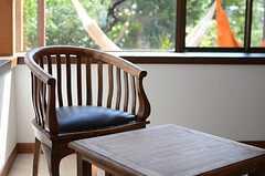 備え付けの家具も、おしゃれ。(101号室)(2014-09-03,専有部,ROOM,1F)