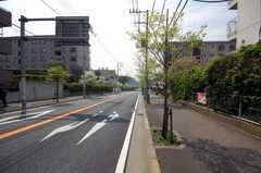 東急田園都市線鷺沼駅からシェアハウスへ向かう道の様子。(2008-04-23,共用部,ENVIRONMENT,1F)