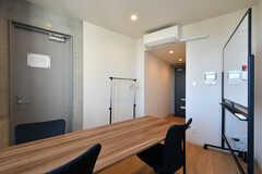 貸し会議室の様子3。Wi-Fiも使用できます。(2021-02-16,共用部,OTHER,5F)