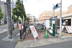 駅の近くには駐輪場があります。(2014-10-08,共用部,ENVIRONMENT,1F)