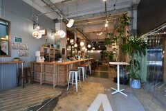 カフェの様子。入居者さんも利用できます。(2018-02-27,共用部,OTHER,1F)