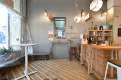 カフェに隣接しているブルワリーのカウンター。(2018-02-27,共用部,OTHER,1F)
