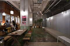 カフェの様子5。(2018-02-27,共用部,OTHER,1F)