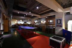 「中目卓球ラウンジ」の様子。卓球教室も開催される予定だそう。(2018-02-27,共用部,OTHER,2F)