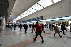 JR・川崎駅構内の様子。(2018-02-27,共用部,ENVIRONMENT,1F)