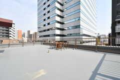 屋上の様子。(2018-04-03,共用部,OTHER,5F)