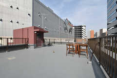 屋上の様子2。(2018-04-03,共用部,OTHER,5F)