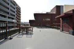 屋上の様子3。(2018-04-03,共用部,OTHER,5F)
