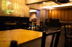 レストラン「Baumhaus SUN」の様子。 ※事業者様提供素材(2020-07-30,共用部,OTHER,2F)