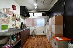 キッチンの様子。(2018-03-09,共用部,KITCHEN,3F)