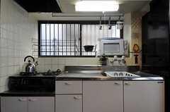 キッチンの様子。(2011-12-19,共用部,KITCHEN,1F)