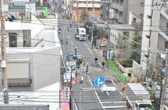 ブレーメン通りを見下ろせます。(2014-01-24,共用部,OTHER,5F)