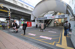 各線・元住吉駅の様子。(2014-01-24,共用部,ENVIRONMENT,1F)