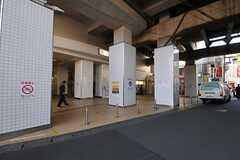 各線・二子新地駅の様子。(2013-10-28,共用部,ENVIRONMENT,3F)