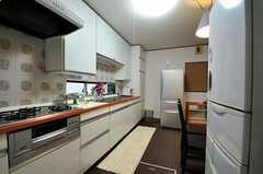キッチンの様子3。(2012-03-23,共用部,KITCHEN,1F)