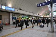 各線・川崎駅の様子。(2012-03-23,共用部,ENVIRONMENT,1F)