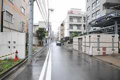 各線・川崎駅からシェアハウスへ向かう道の様子。(2012-03-23,共用部,ENVIRONMENT,1F)