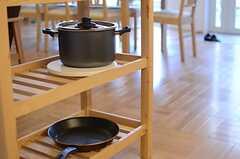 調理器具はこちらにも。(2013-12-17,共用部,KITCHEN,1F)
