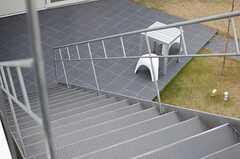 階段の様子2。(2013-12-17,共用部,OTHER,2F)