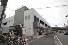 シェアハウスの目の前にある大型スーパー。(2013-12-17,共用部,ENVIRONMENT,1F)