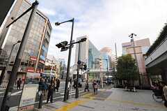 各線・溝の口駅前の様子。(2013-12-17,共用部,ENVIRONMENT,1F)
