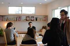 イベントの様子3。(HOUSE TRIP -旅する住まいの見学会-)(2014-02-22,共用部,PARTY,1F)