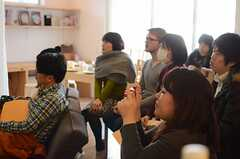 ファミリー向けのシェアハウスとは、というところからお話が始まります。(HOUSE TRIP -旅する住まいの見学会-)(2014-02-22,共用部,PARTY,1F)