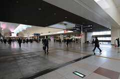 各線・川崎駅の様子。(2012-01-26,共用部,ENVIRONMENT,1F)