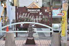 ブレーメン通り商店街のマップ。(2018-02-23,共用部,ENVIRONMENT,1F)