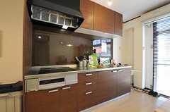 キッチンの様子。(2012-08-03,共用部,KITCHEN,1F)