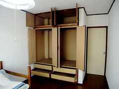 収納の様子。(201号室)(2007-07-13,専有部,ROOM,2F)