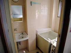 水まわりの様子。(301号室)(2007-07-13,専有部,ROOM,2F)